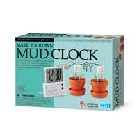MUD CLOCK 植物時鐘,環保免電 (附盆栽)